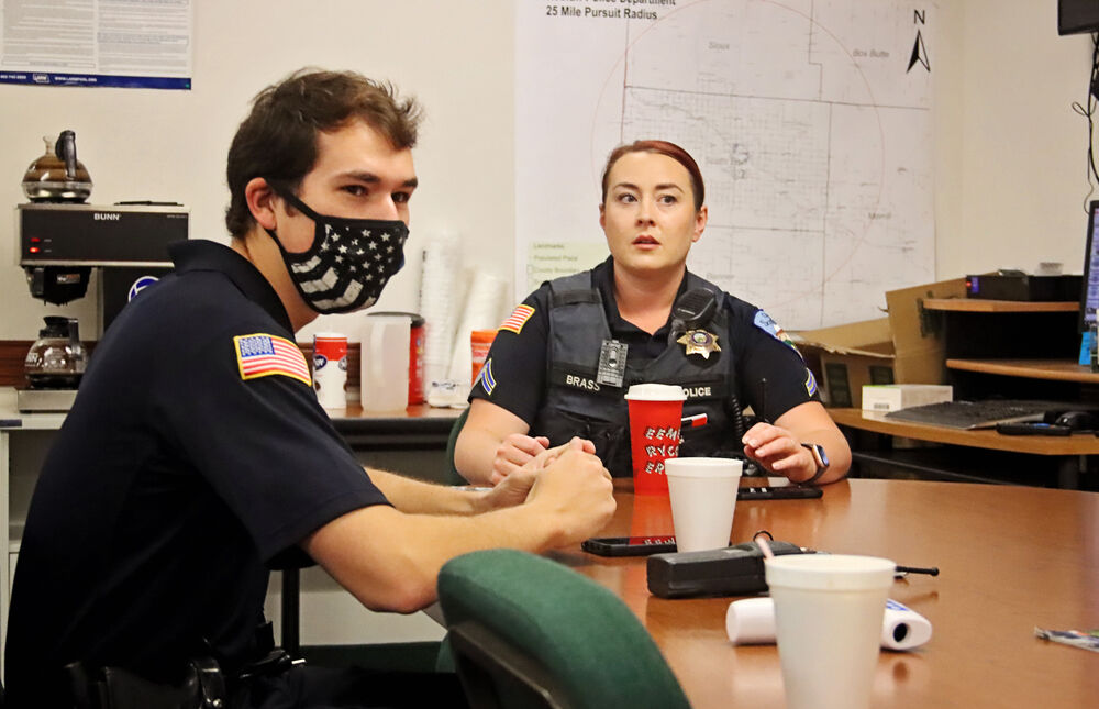 Pandemic means change for police officers