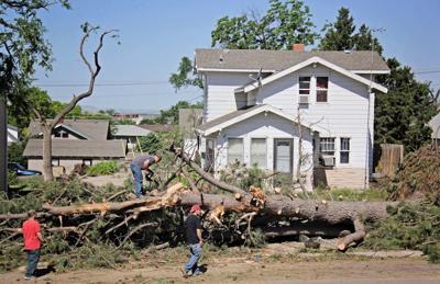 Tornado damages Bayard nursing facility, homes