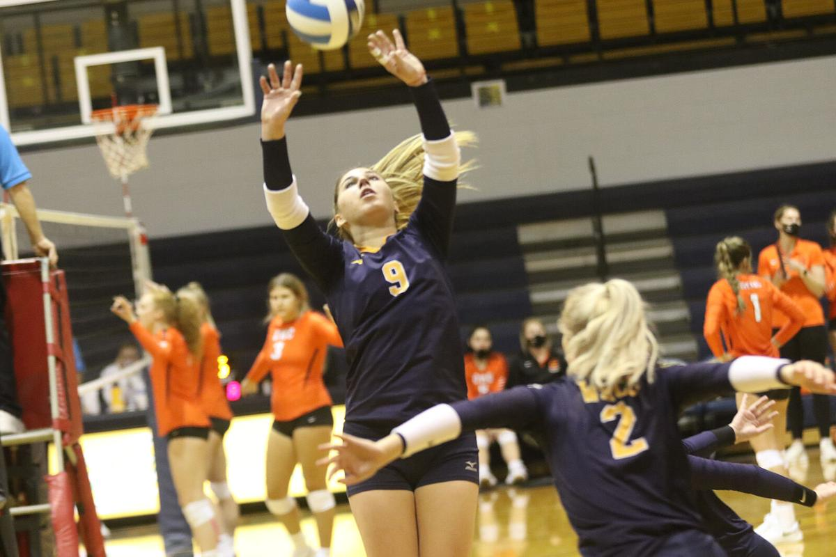 WNCC volleyball team goes 2-0 in second round of tourney