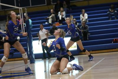 Gering volleyball team falls to Ogallala in three sets