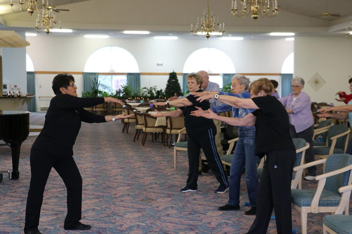 PHOTOS: Residency Fitness Class