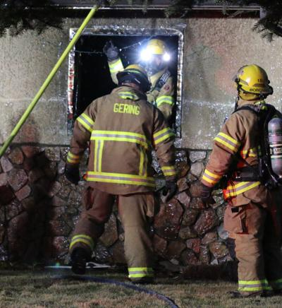 Fire damages Gering home, family displaced