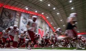 Video: Nebraska fall football practice, Aug. 7