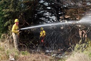 Gering Volunteer Fire handles ditch fire