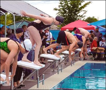 Two swim meets left for the Hemingford Swim Team