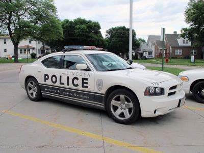 Lincoln police cruiser