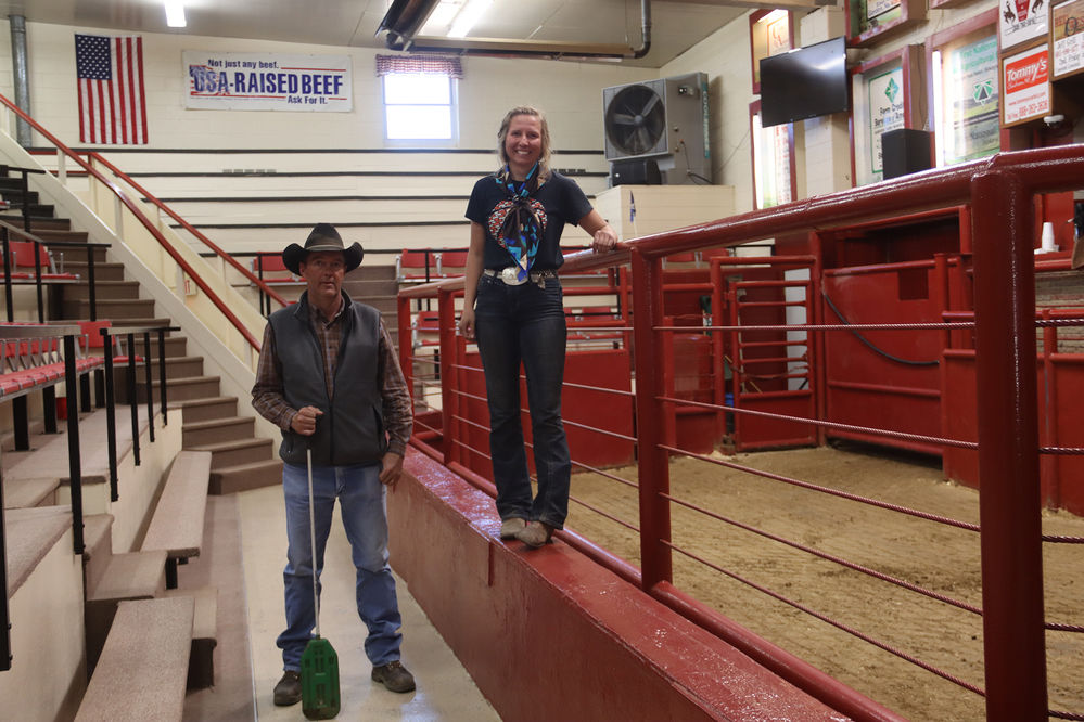 Crawford Livestock Market prides itself on excellent customer service and facility appeal