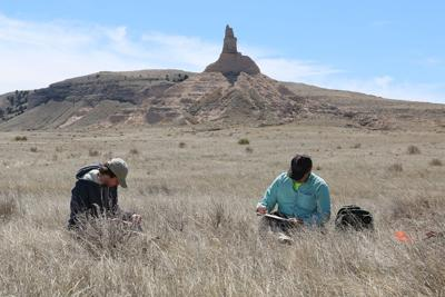 Uncovering the past at Chimney Rock