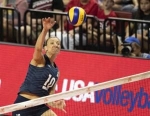 Former Huskers Jordan Larson, Kelsey Robinson help USA volleyball defend title in China
