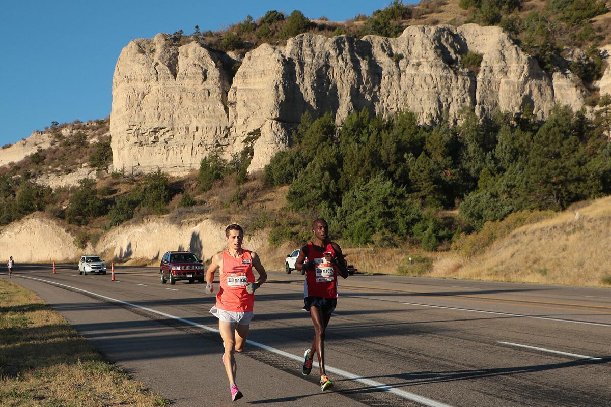 Alex Ekesa wins 10th annual Platte Valley Companies' Monument Marathon