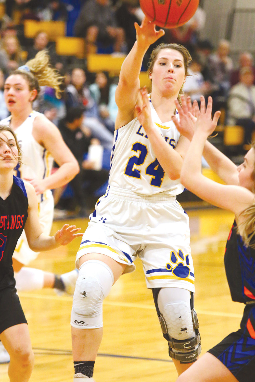 Morrill's Ilycia Guerue earns Western Trails Conference MVP honors