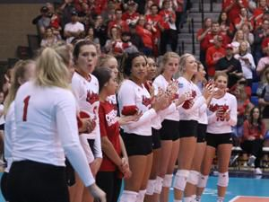 Husker volleyball announces spring exhibition in Grand Island
