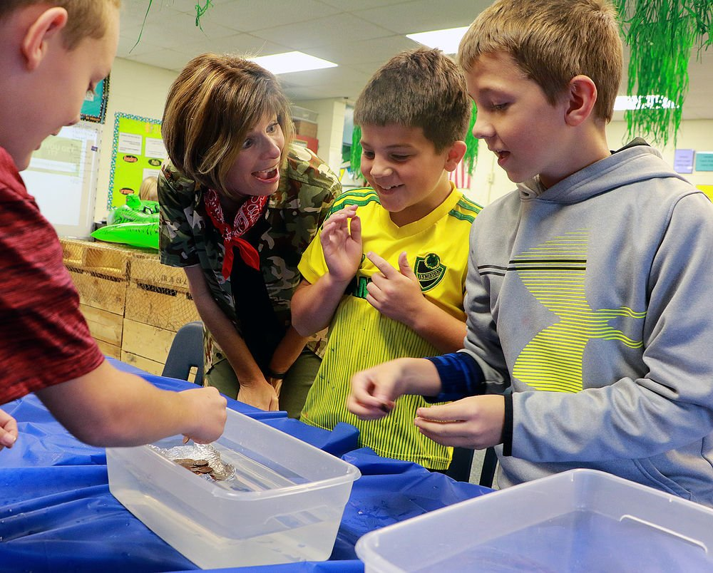 Geil Elementary students rescue principal from Jumanji