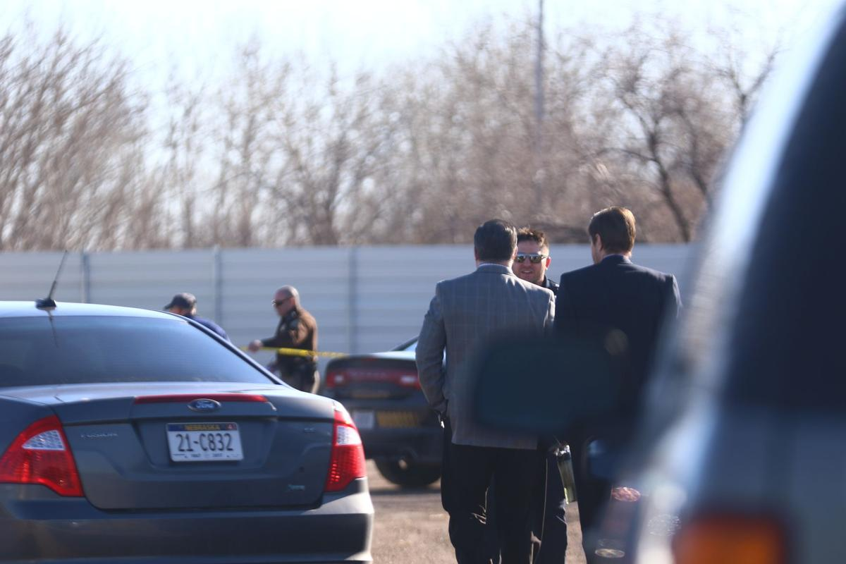 Authorities cordon off storage units, investigate report of 'possible body'