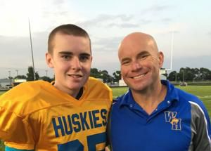 Jack Hoffman, 13, plays in first school football game, 6 years after his Huskers touchdown run