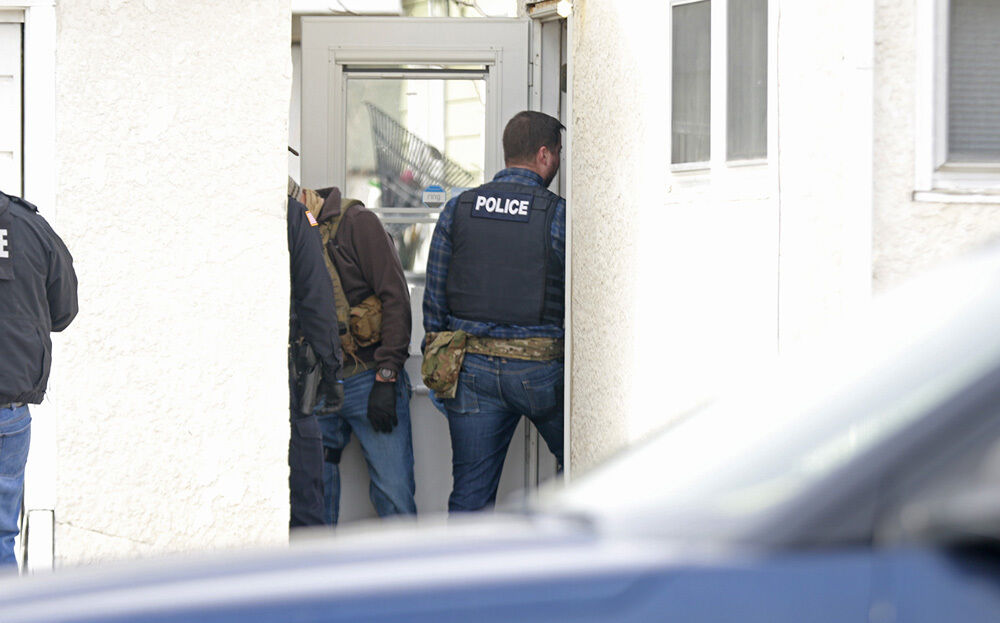 Investigators search Gering residence, other buildings in 'ongoing investigation'