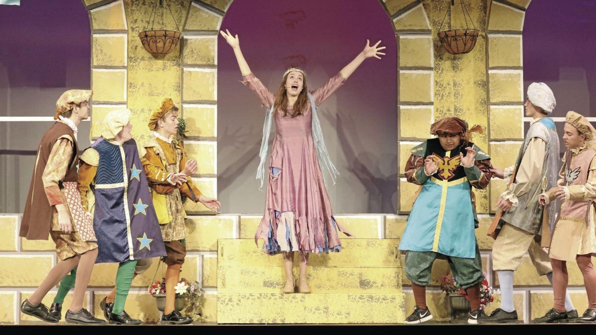PHOTOS: Gering High School musical 'Once Upon a Mattress' dress rehearsal