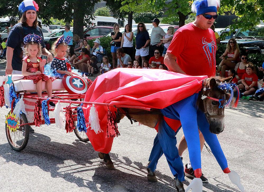 Oregon Trail Days Kiddie Parade showcase youth creativity