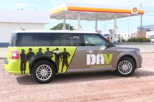 Ford Flex to transport veterans to appointments