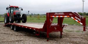 Red Rhino Flatbed Trailer