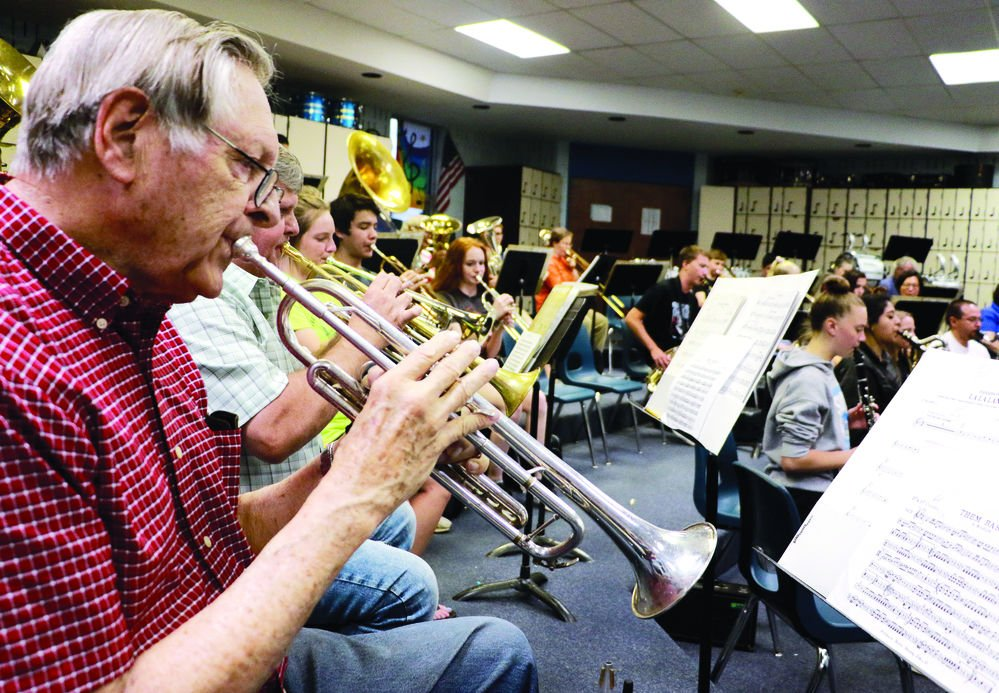 City band prepares for Concerts in the Park