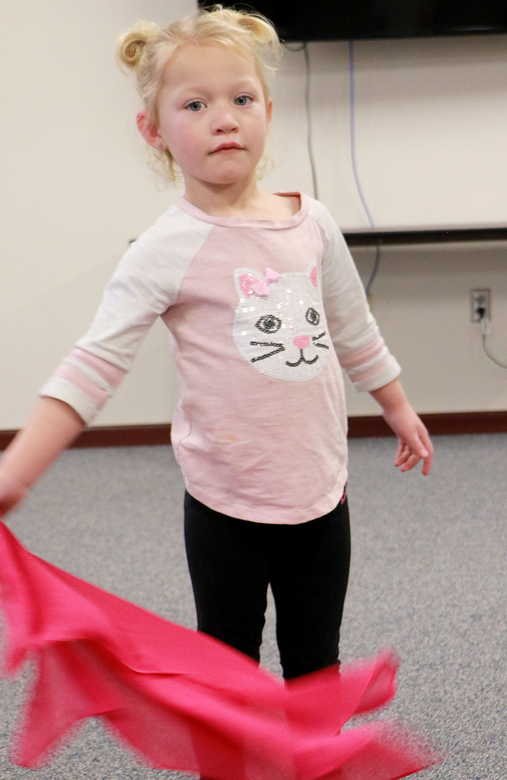 Morrill preschool implements Zumbini to develop students' social and cognitive skills