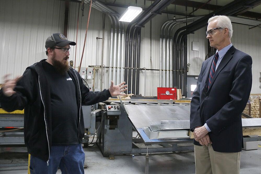Lt. Gov. Foley surveys Sidney businesses