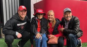 106-year-old fan attends her first Husker game, meets Nebraska coach Scott Frost