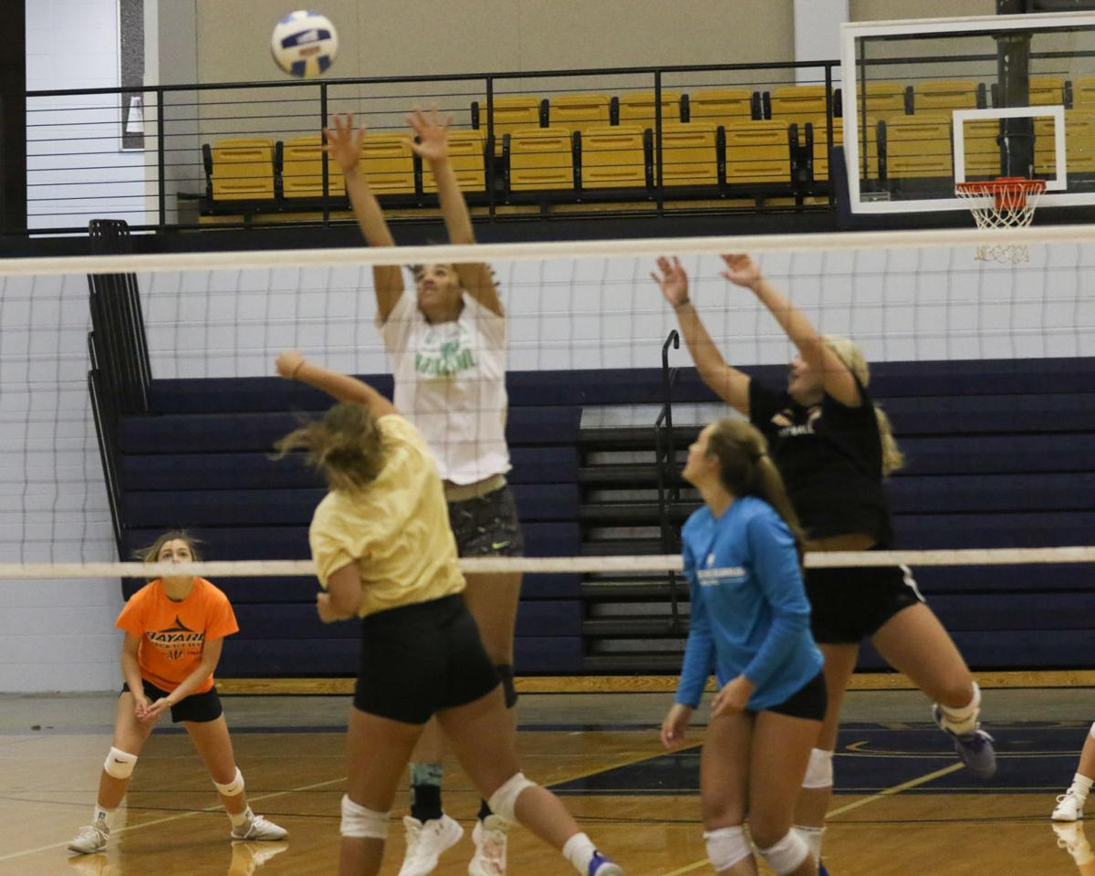 PHOTOS: Second Day All-star Volleyball Practice