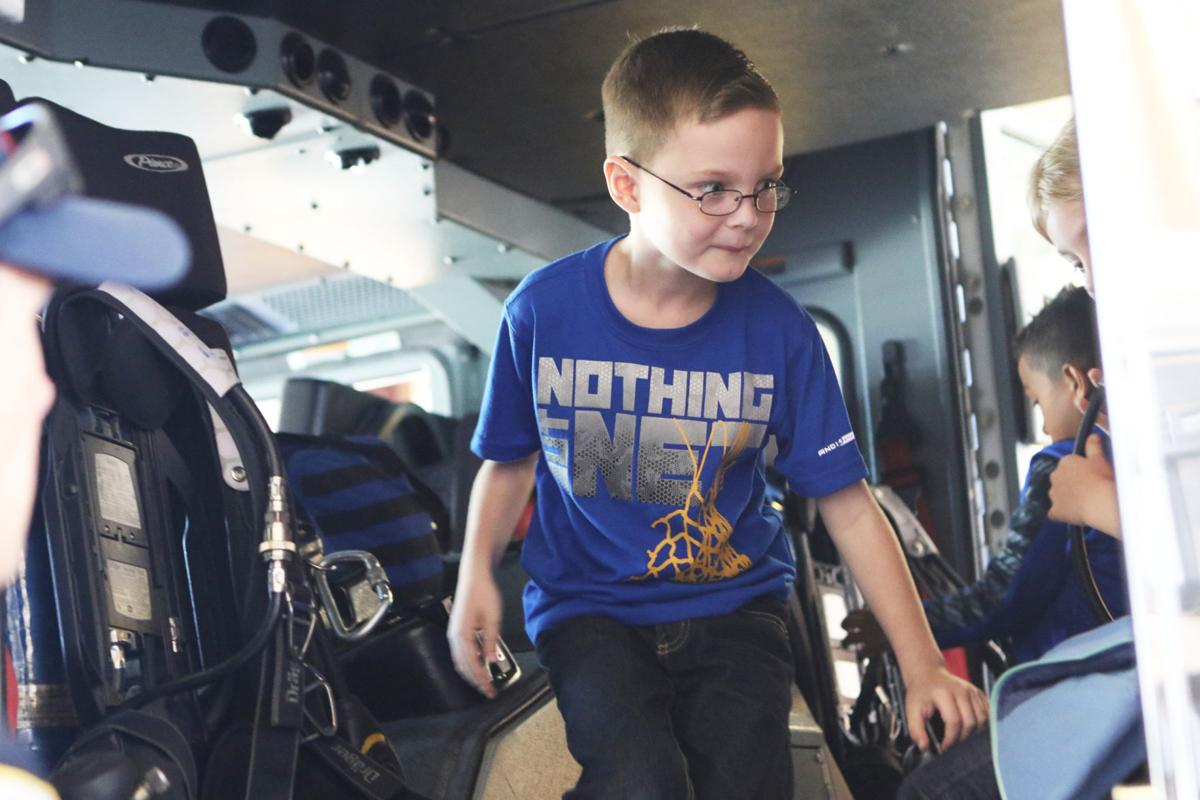 PHOTOS: Westmoor students at Scottsbluff Fire Department