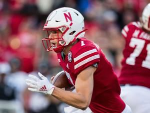 It was only one play, but Luke McCaffrey made strong impression in Husker debut