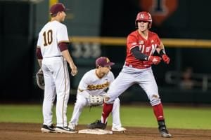 Five-run third inning powers Nebraska to first-round win over Minnesota in Big Ten tournament