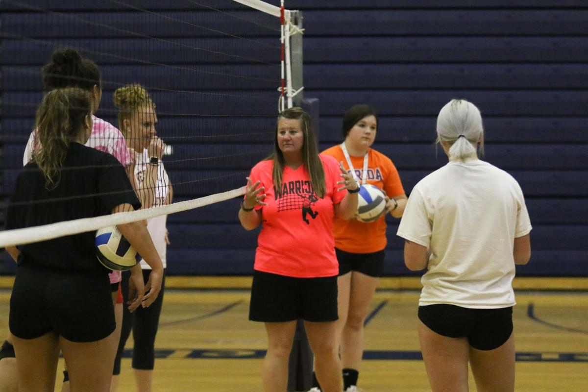 PHOTOS: West Nebraska Volleyball Practice