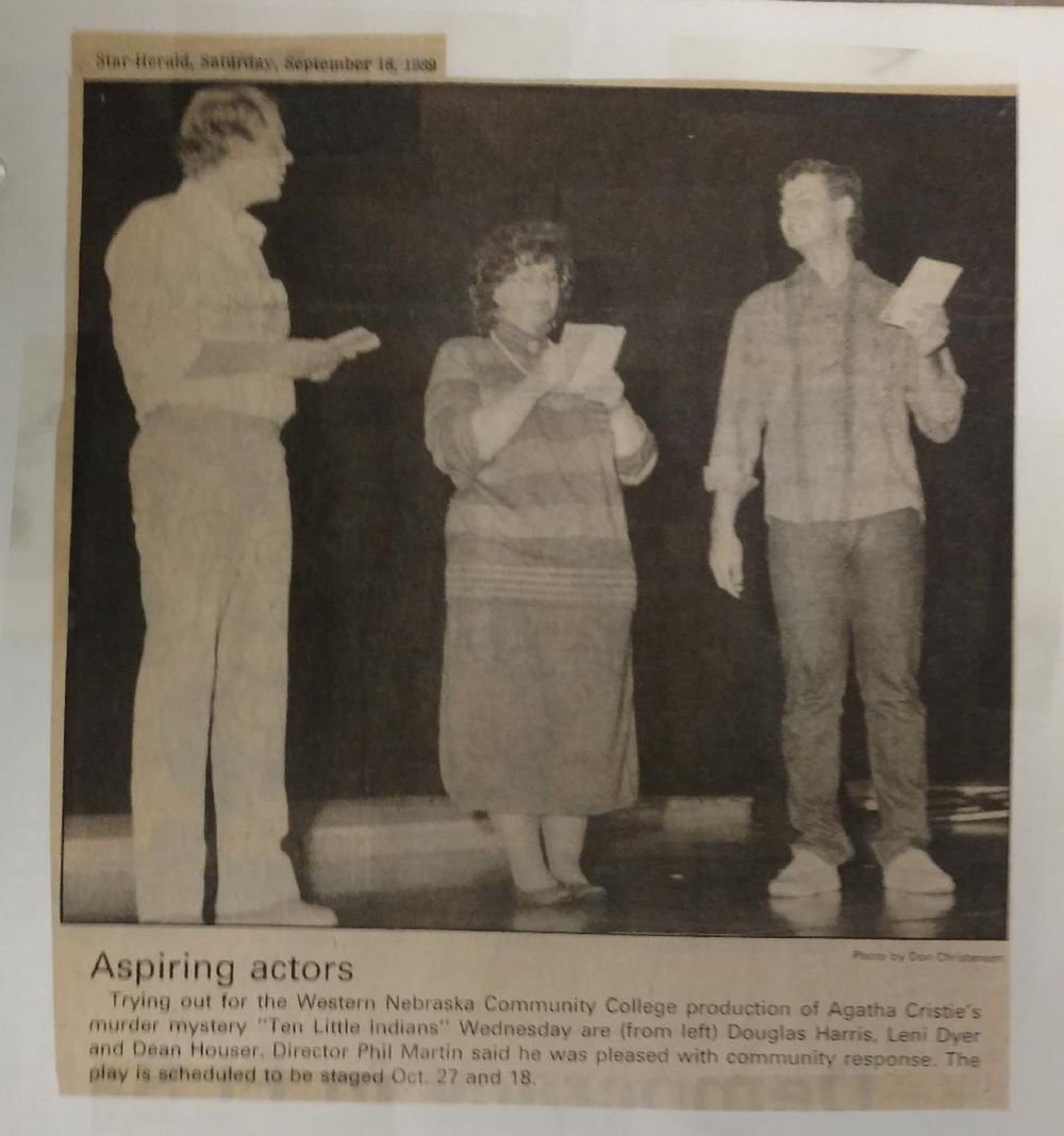 FROM THE ARCHIVES: A look back at WNCC theater through the years