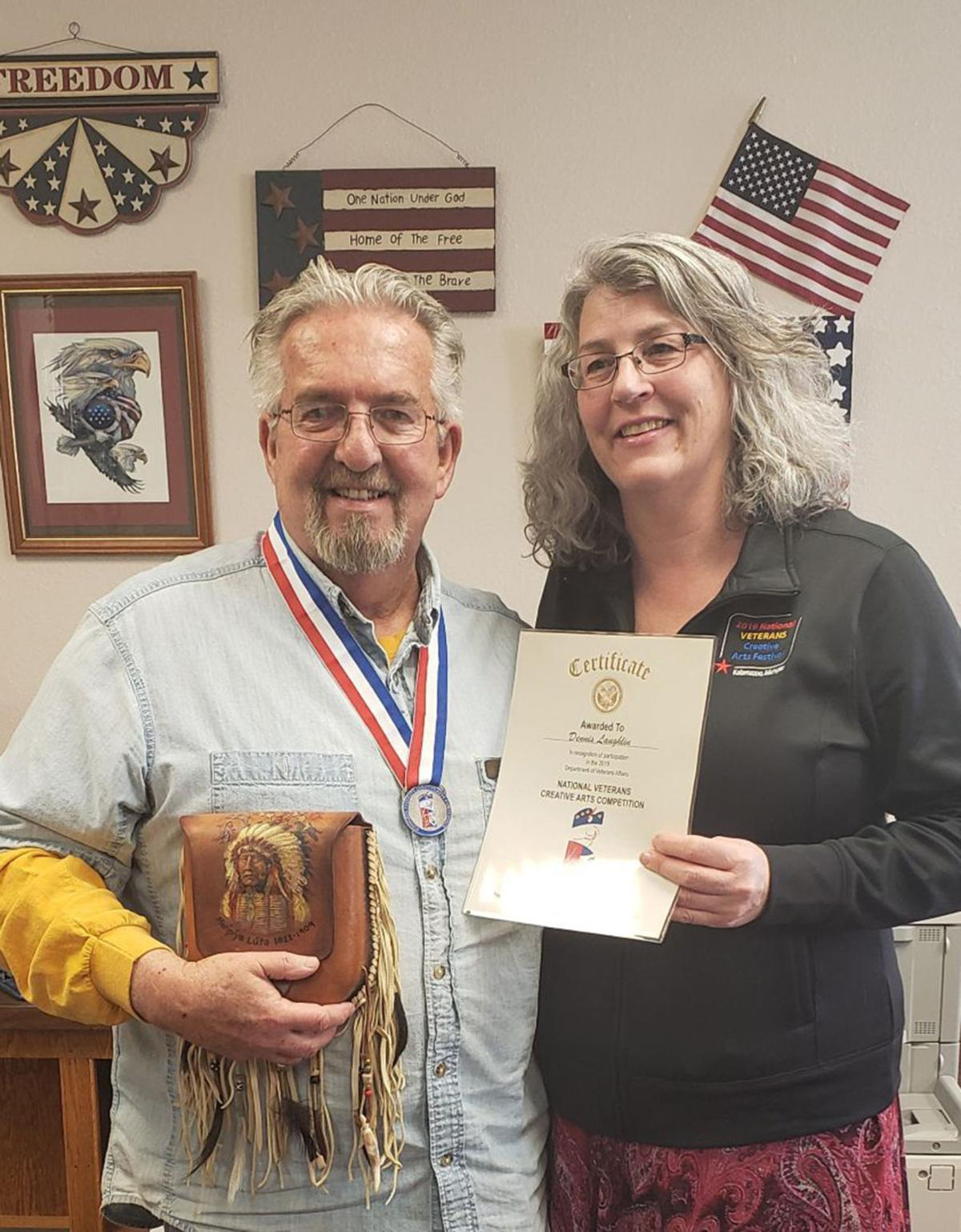 Box Butte County Veterans Service Officer Recognized with Silver Medal