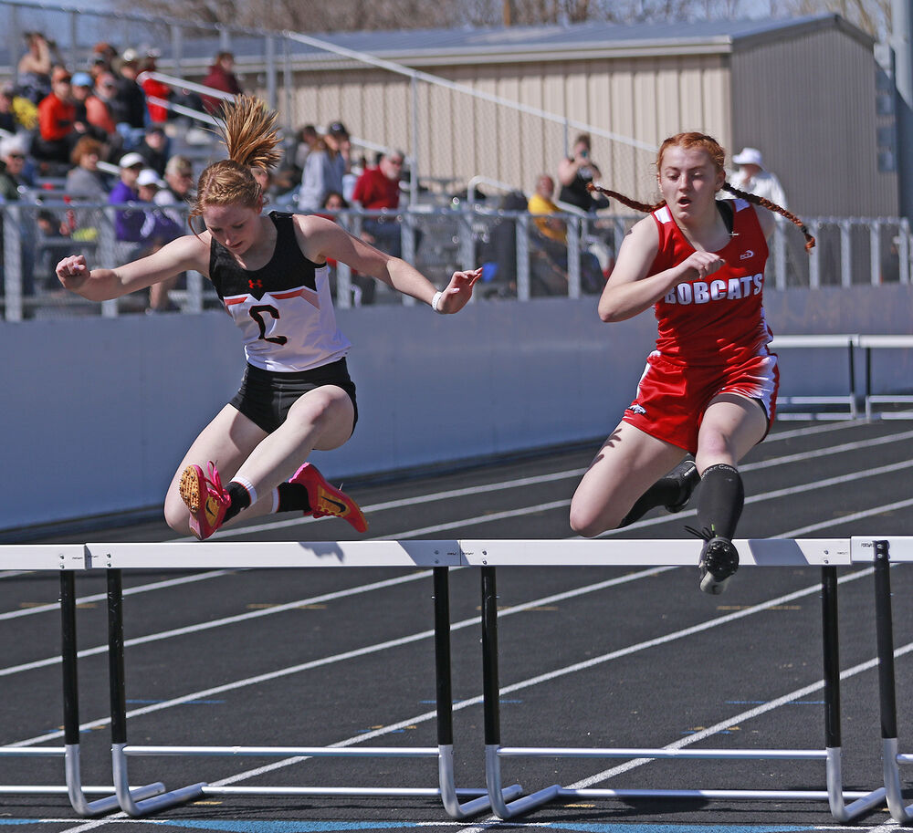 Cats compete in Mitchell and Bayard