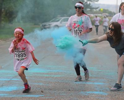 Raining down colorful fun: Seventh annual United Way Color Dash held