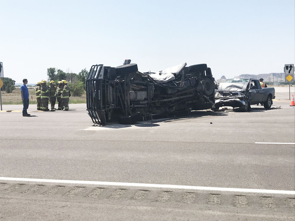 Authorities on scene of crash