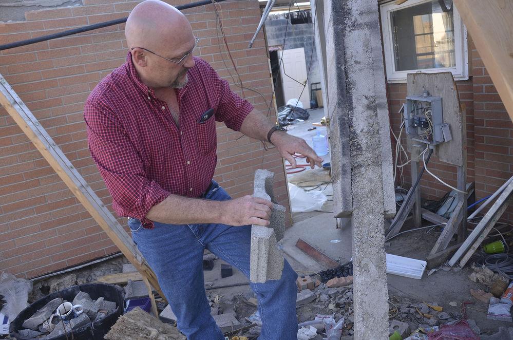 Bayard man has big dreams: building better, disaster-resistant structures