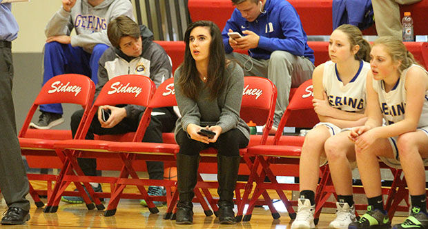 timeout with lisa imus gering high school girls basketball student manager