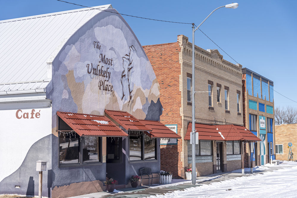The Most Unlikely Place: A former silent movie theater is the heart of a family's art-based efforts to keep downtown Lewellen rolling