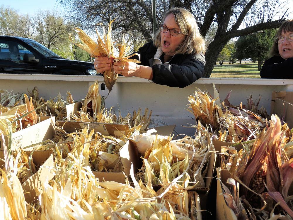 The history of Pawnee corn