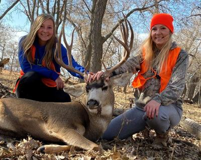 Big Bucks Contest: Sisters Kaylee and Brittany Spreier bag a buck in Morrill County