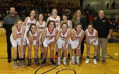 Mitchell girls repeat as Western Conference Tournament champs