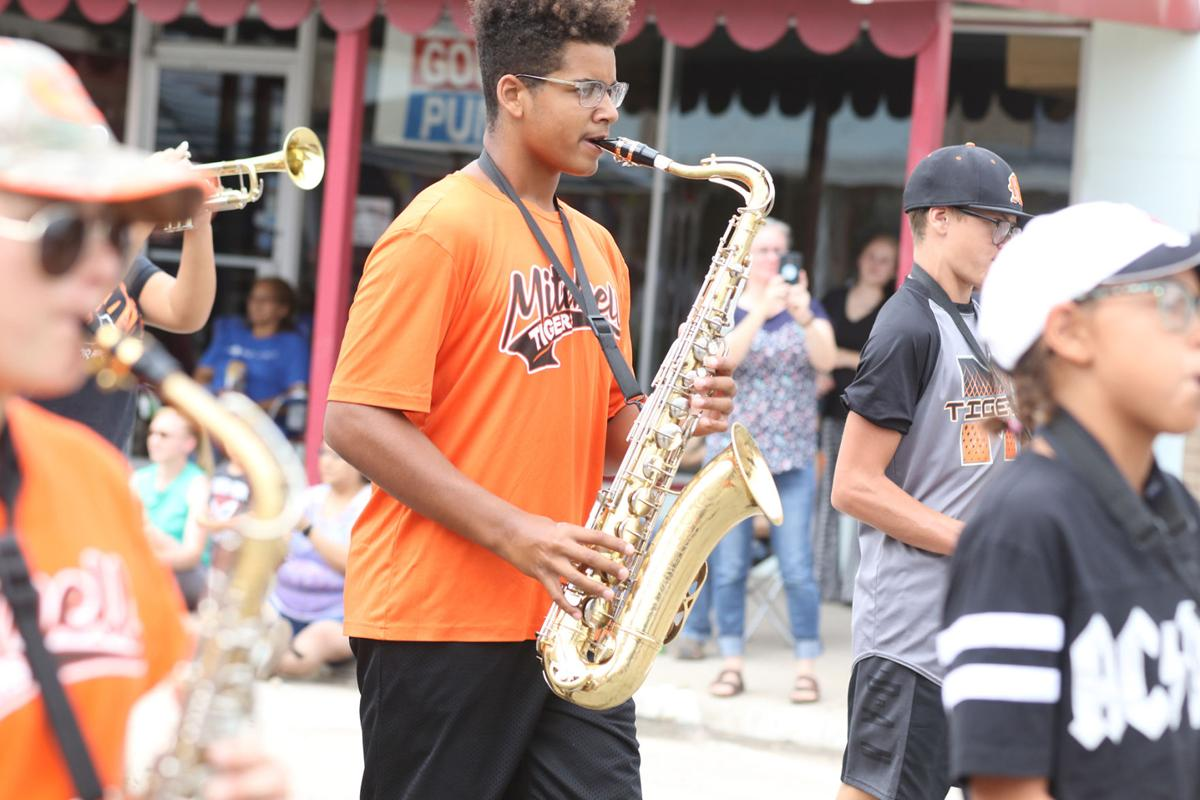 PHOTOS: Mitchell High School Marching Band