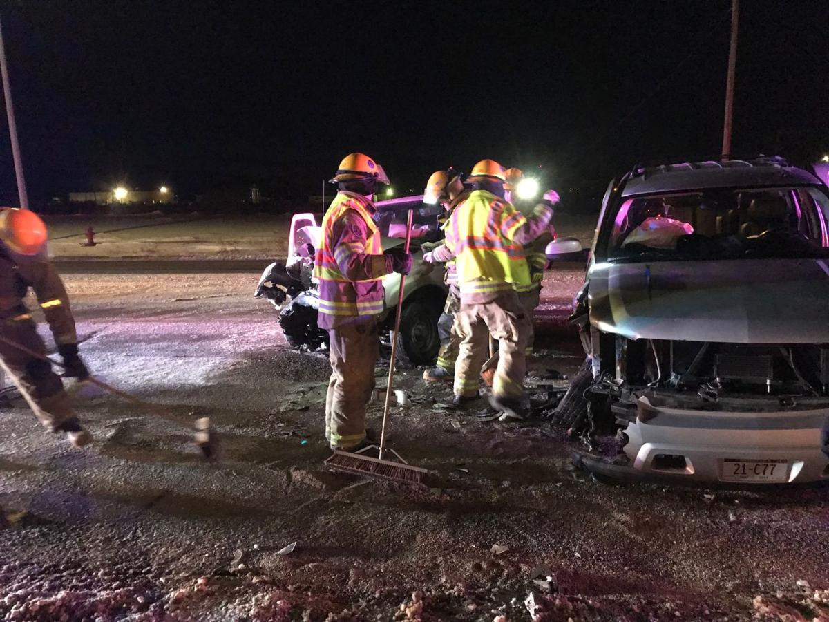 Gering Police investigate multiple vehicle collision