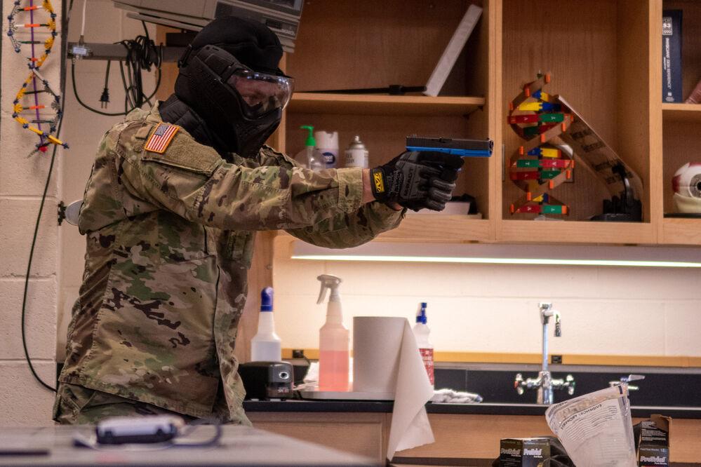 Local officers train Nebraska National Guard Unit