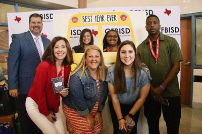New teachers-CFB ISD