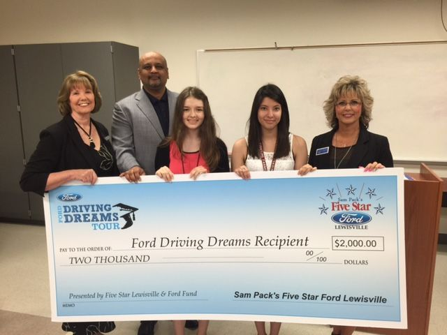 5 Star Ford Lewisville >> Lewisville Students Earn Ford Scholarships News