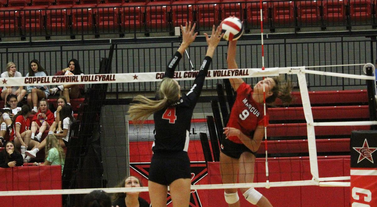 6-6A Volleyball Roundup: Marcus downs Flower Mound; playoff races unfinished as schedule winds down